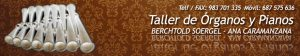 Logo Taller de Órganos y Pianos